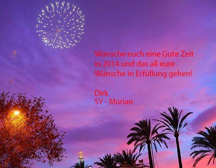 Euch allen ein Frohes neues Jahr 2014